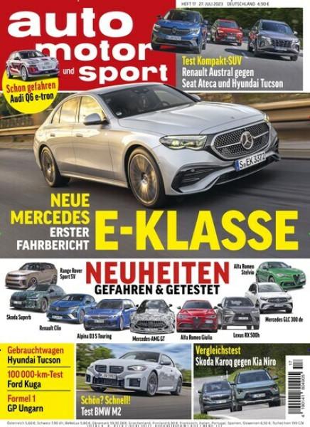 Zeitschriften abo Auto, Motor und Sport