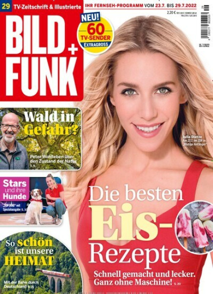 Zeitschrift BILD + FUNK abo