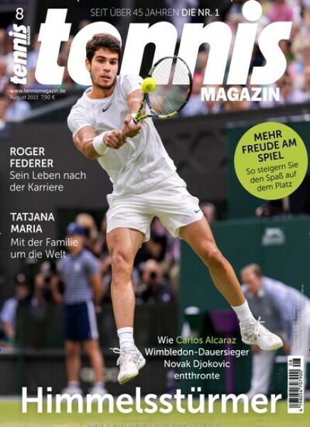 Zeitschrift tennis MAGAZIN abo