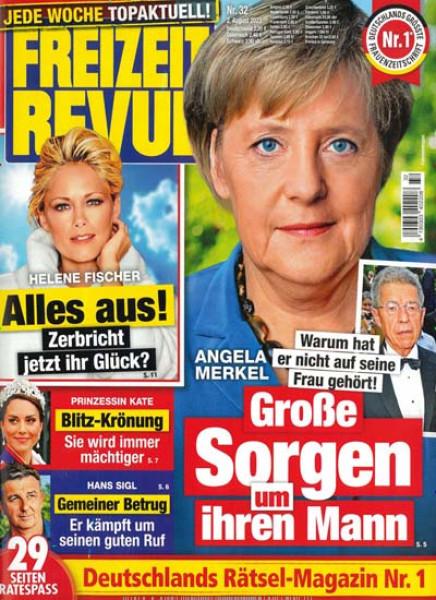 Zeitschriften abo FREIZEIT REVUE