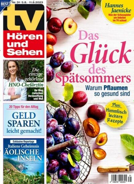 Zeitschriften abo TV HÖREN und SEHEN