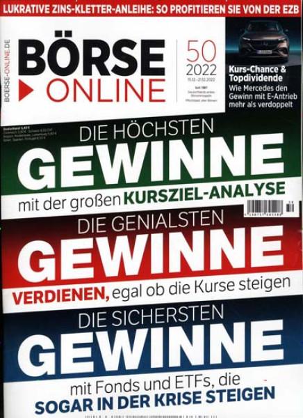 Zeitschriften abo Börse Online