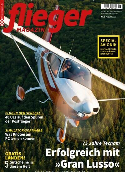 Zeitschriften abo Fliegermagazin