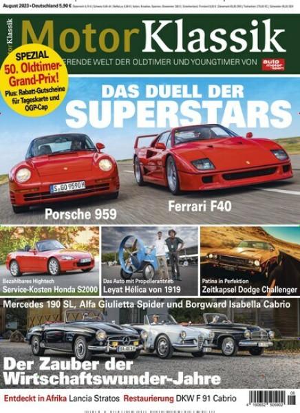 Zeitschriften abo Motor Klassik