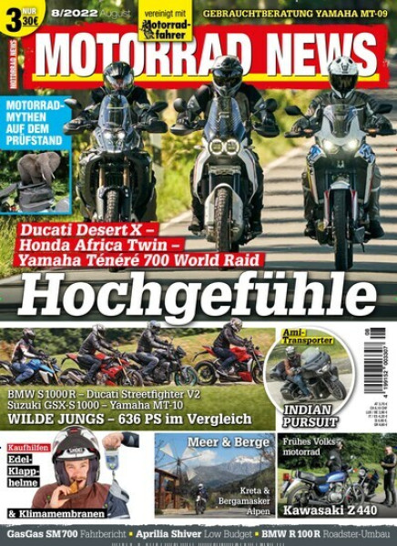 Zeitschriften abo MOTORRAD NEWS