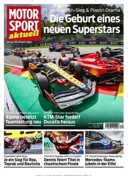 Zeitschriften abo MOTORSPORT