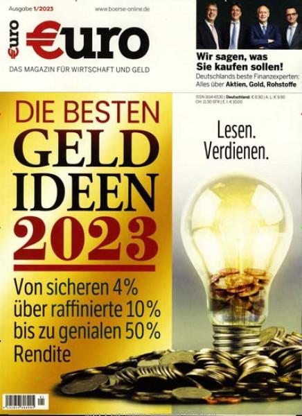 Zeitschriften abo Euro Jahresabo