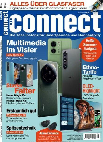 Zeitschrift connect Jahresabo