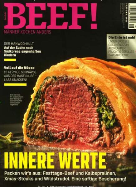 Zeitschrift BEEF! abo