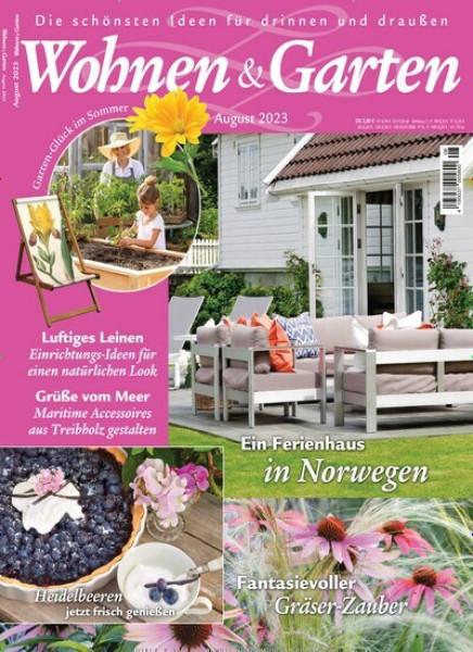 Zeitschriften Abo Wohnen & Garten