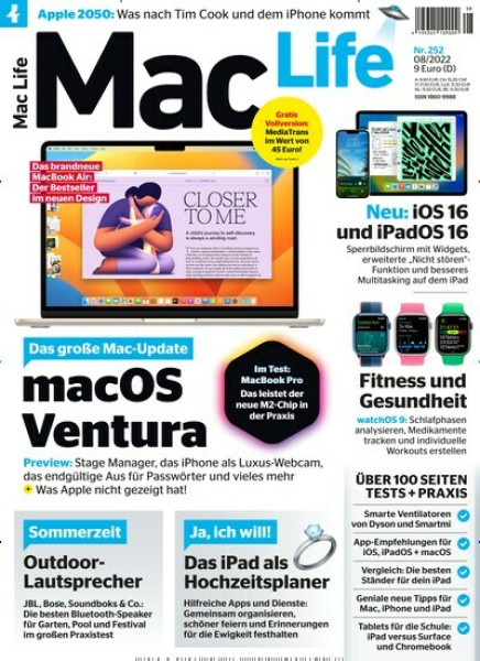 Zeitschriften abo Mac Life