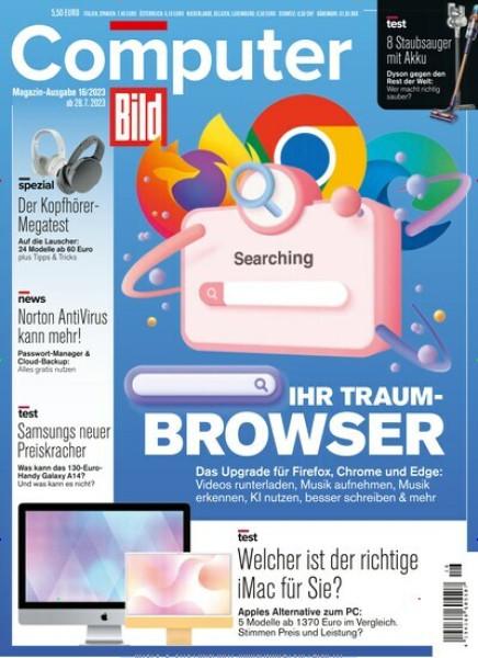 Zeitschriftenabo Computer Bild