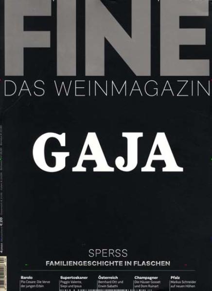 Zeitschrift FINE Das Weinmagazin abo