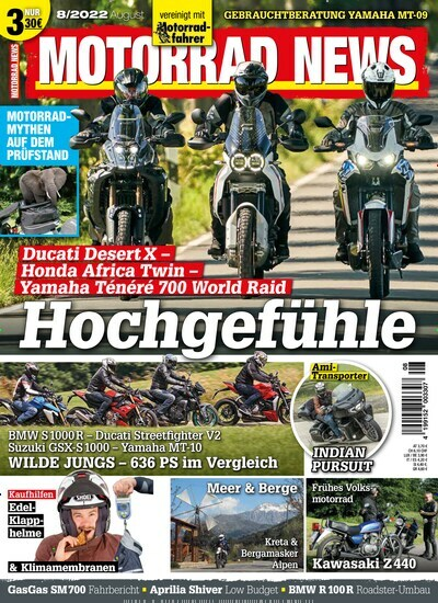 motorrad news abo zeitschriften. Black Bedroom Furniture Sets. Home Design Ideas