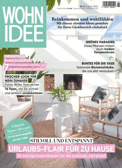 wohnidee abo zeitschriften. Black Bedroom Furniture Sets. Home Design Ideas