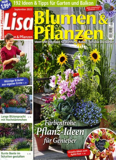 lisa blumen pflanzen abo zeitschriften. Black Bedroom Furniture Sets. Home Design Ideas