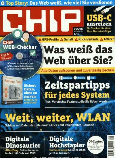 Burda Direct. 1-годичная подписка на CHIP (с DVD) за 14,88 Евро