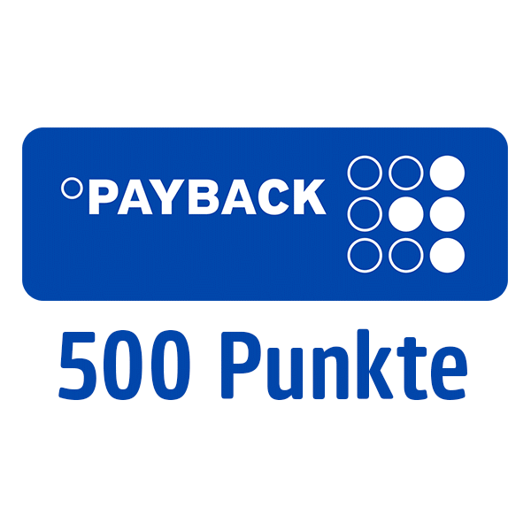 500 PAYBACK Punkte