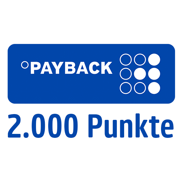 2.000 PAYBACK Punkte