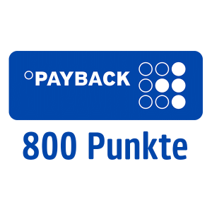 800 PAYBACK Punkte