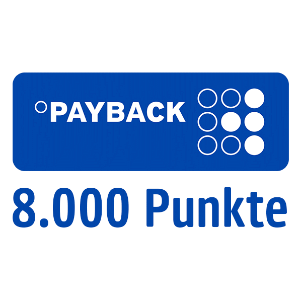 8.000 PAYBACK Punkte