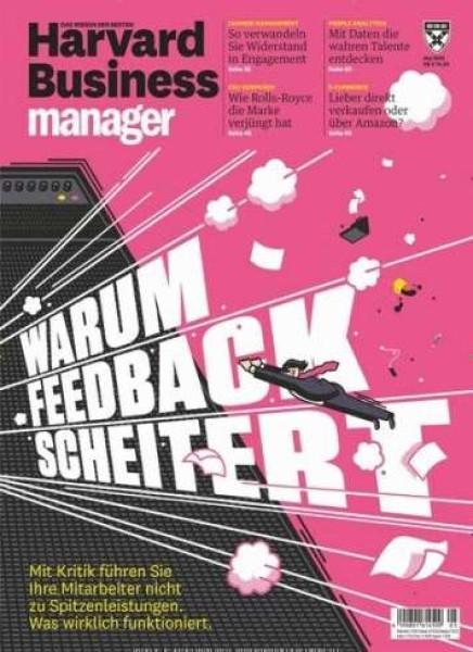 Zeitschrift Harvard Business manager ePaper abo