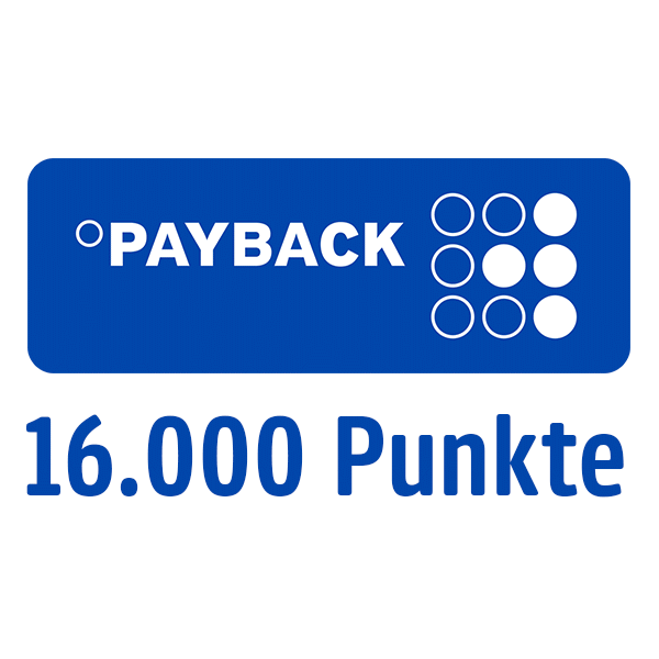 16.000 PAYBACK Punkte