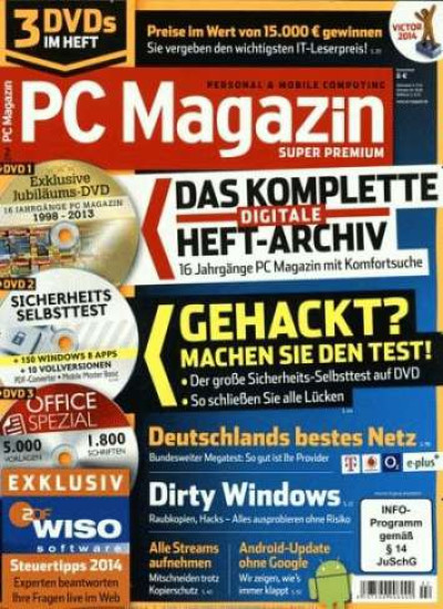 PC Magazin Super Premium XXL