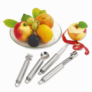 "4tlg. Obstmesser-Set ""Fruit"""